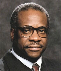 Clarence Thomas  confirmed