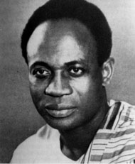 Kwame Nkrumah ousted