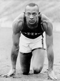 Jesse Owens 4 Olympic Gold