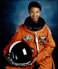 First African-American woman space